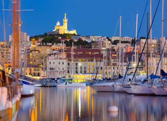 From the Gulf of Saint Tropez to Marseille